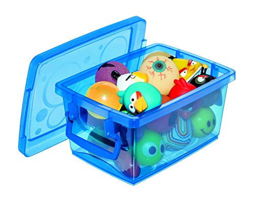 Mini Organizador Com Alça Ordene Br Azul 400ml