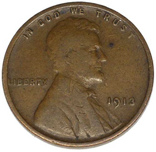 1913 P Lincoln Wheat Penny Good