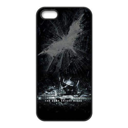 The Dark Knight Rises DF23JK5 coque iPhone 5 5s étui de téléphone cellulaire coque P1HY6U8PM