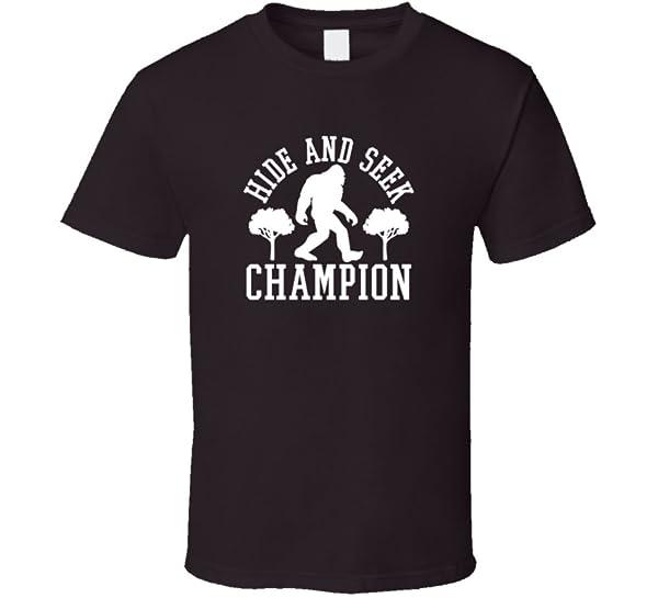 Hide And Seek Champion T Shirt