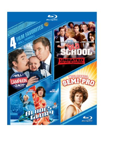4 Film Favorites: Will Ferrell (BD)(4FF) [Blu-ray] by Warner Home Video