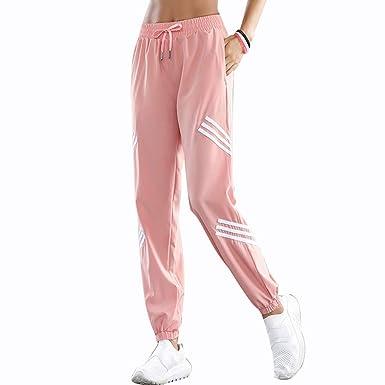 Pantalones de yoga Pantalones de chándal sueltos de gran tamaño ...