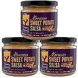 Yummy Yammy Sweet Potato Salsa, Moroccan with Roasted Sweet Potato, Curry, Lentil & Kale, 3 Jars, 12 Oz