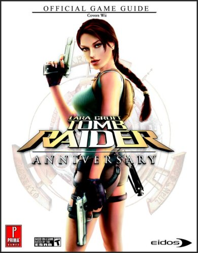 Lara Croft Tomb Raider Anniversary Wii Prima Official Game