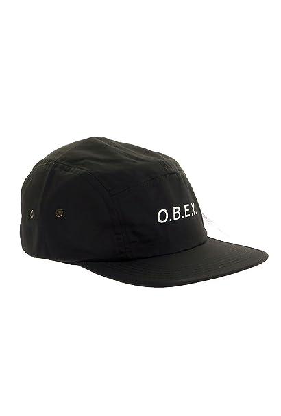 OBEY - Gorra de béisbol - para hombre negro Talla única