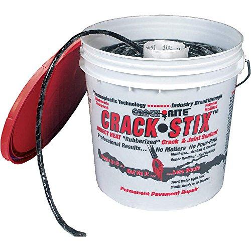 Crack Stix Blacktop Crack Repair, 1/4 D, 250ft, Black