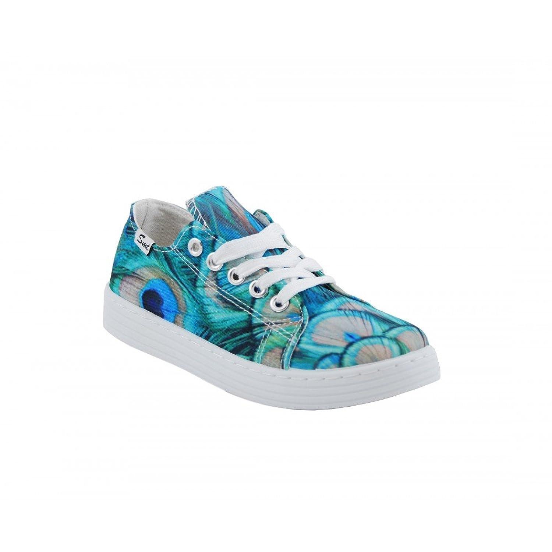 Benavente Sneaker Bambini Verde Size: 35 zdcZfYa