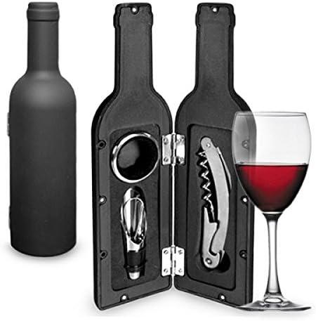 Compra Accesorios Vino de estuche con forma de botella (3 piezas) en Amazon.es
