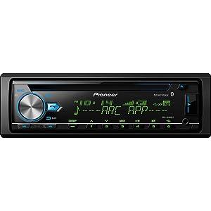 Pioneer DEH-X6900BT Vehicle CD Digital Music Player Receivers, Black