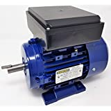 2 HP 1750 RPM GENPAR Electric Motor Single Phase Type Industrial for HEAVY DUTY Applications. BALL BEARING 4 Poles Dual Voltage 110/220V. Universal. Fan, compressors, pump, machines, GENERAL PURPOSE