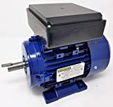 1HP 3450RPM GENPAR Electric Motor 1 Single Phase Type Industrial for HEAVY DUTY Applications BALL BEARING 2 Poles Dual Voltage 110/220V Universal Fan Compressor Pump Machines 1 HP GENERAL PURPOSE USE