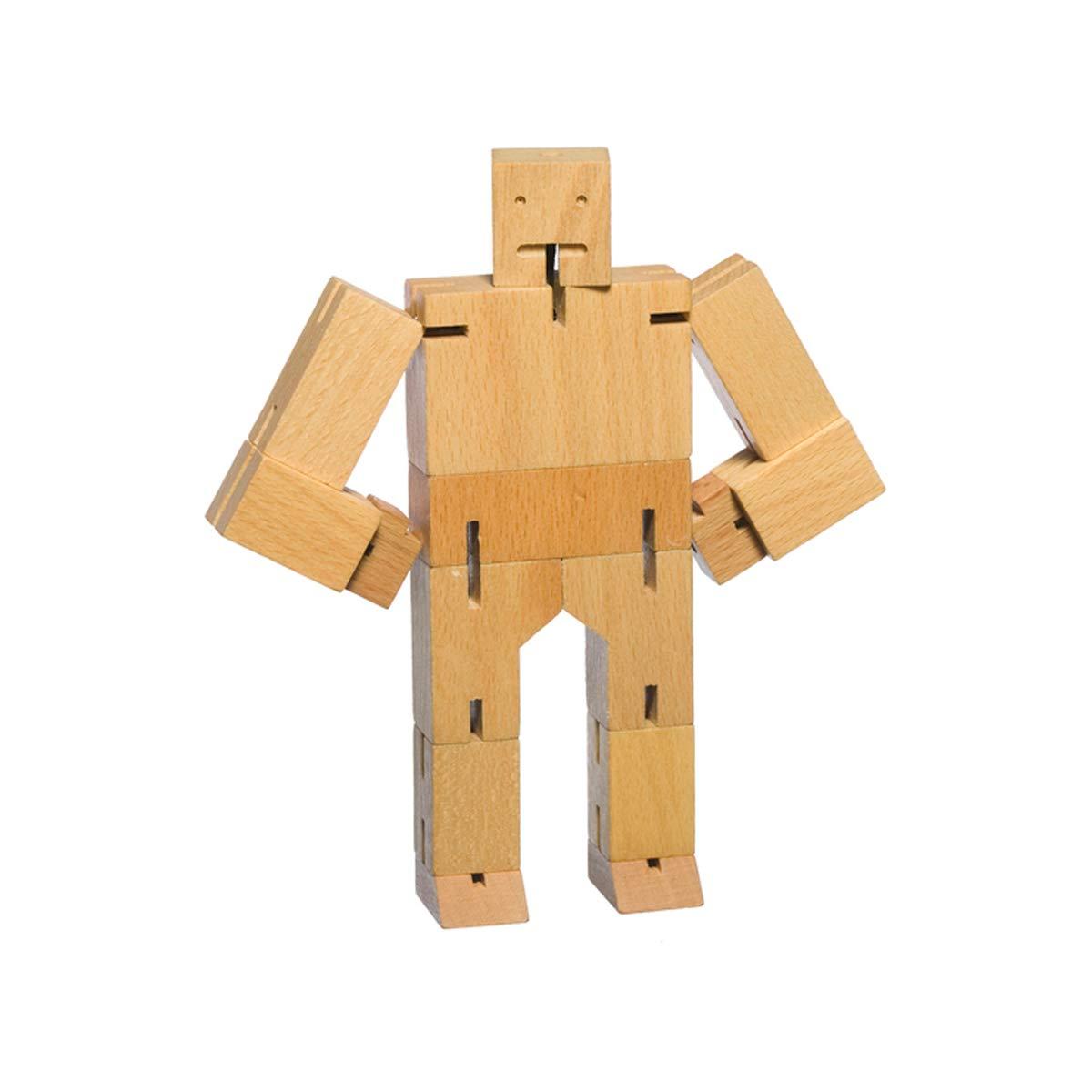 Suck Uk Areaware Natural Wood Micro Cubebot Amazon Kitchen