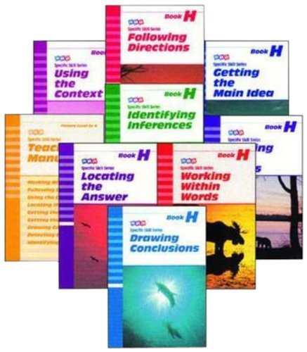 Specific Skill Series Sets by Level - Level H Starter Set by Sra (June 1, 1997) Paperback Pck