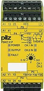 777950 Pilz - PSWZ X1P 3V /24-240VACDC 2n/o 1n/c 2so - Safety relay PNOZ X - Standstill monitoring
