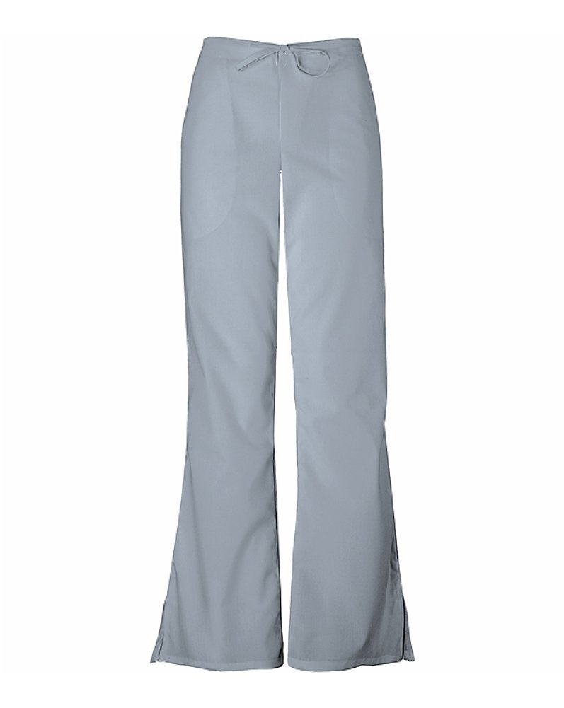 WorkWear 4101 Women's Low Rise Flare Scrub Pant Gray XX-Small