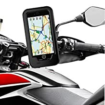 Bike Phone Mount Holder,WMTGUBU Support Bicycle Motorcycle Cell Phone Cover Shell with Anti-broken Shock-proof Waterproof Resistant for 5.5 Inch iPhone 7Plus/6 Plus Android Smartphone Devices