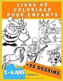 Livre De Coloriage Pour Enfants 3 6 Ans Avec De 35 Dessins A