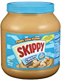 Skippy Creamy Peanut Butter, 64 Ounce (Pack of 2)