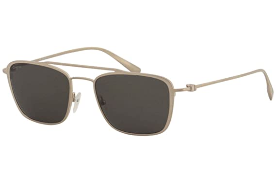 ca339bdbef Image Unavailable. Image not available for. Color  Salvatore Ferragamo  Sunglasses SF500S 719 SATIN GOLD Rectangular 54x19x145