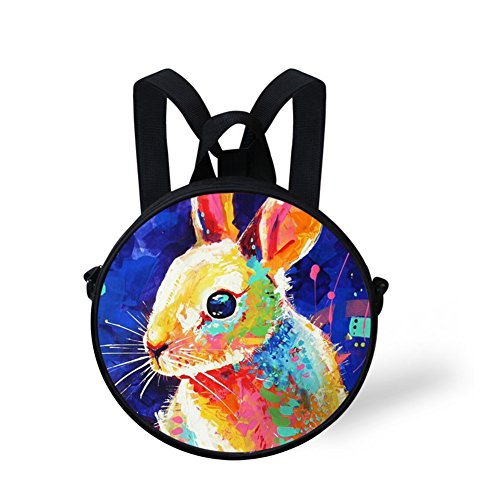 Shoulder Bag Print Animals NYEC494I Bag Round Round FancyPrint vq1BZAwa