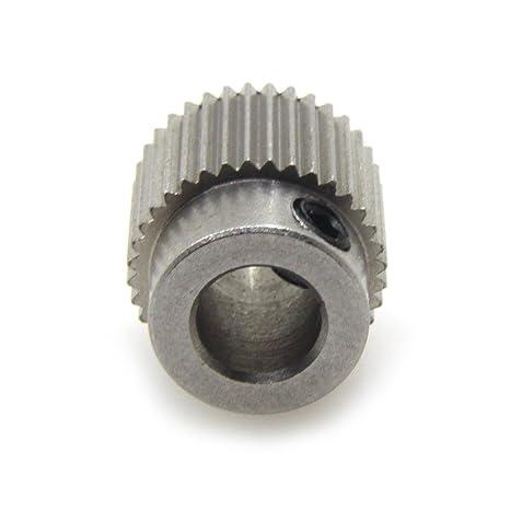 BIQU equipo extrusor Polea 40Teeth Bore 5 mm engranaje unidad de ...