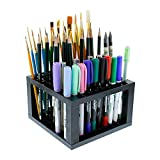 U.S. Art Supply 96 Hole Plastic Pencil & Brush