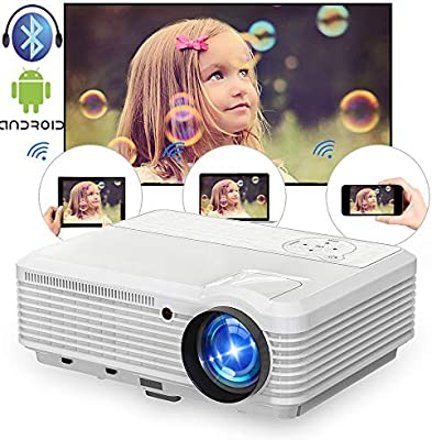 Proyector de video inalámbrico HD 4500 Lumen 200
