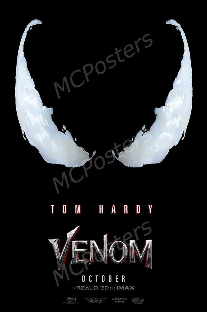 Amazon com: MCPosters Marvel Venom 2018 GLOSSY FINISH Movie