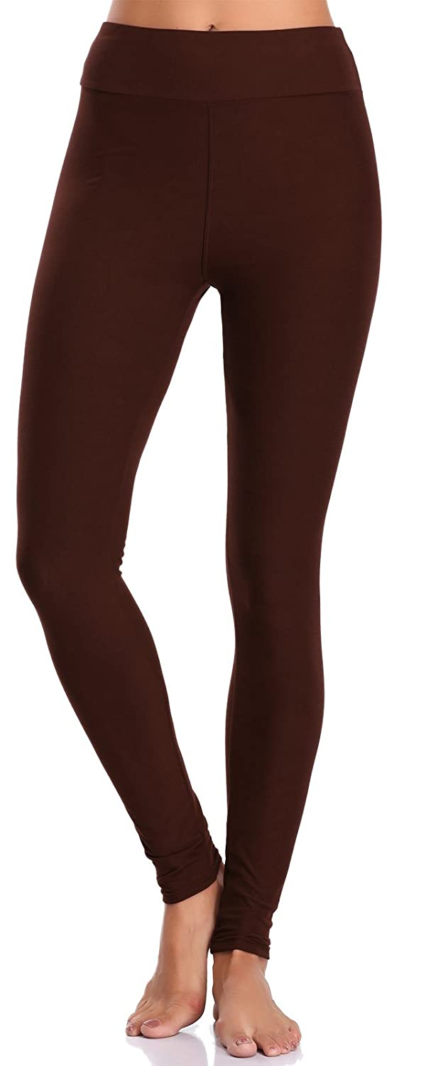 b6c180fe4116b BAILYDEL Women's Ultra Soft Ankle Leggings High Waist Seamless Stretch Pants  at Amazon Women's Clothing store: