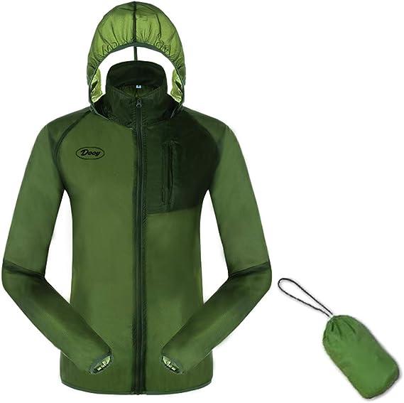 Dooy Cycling Jacket, Sun Protection Running Bike Clothing, Outdoor Sports Coat