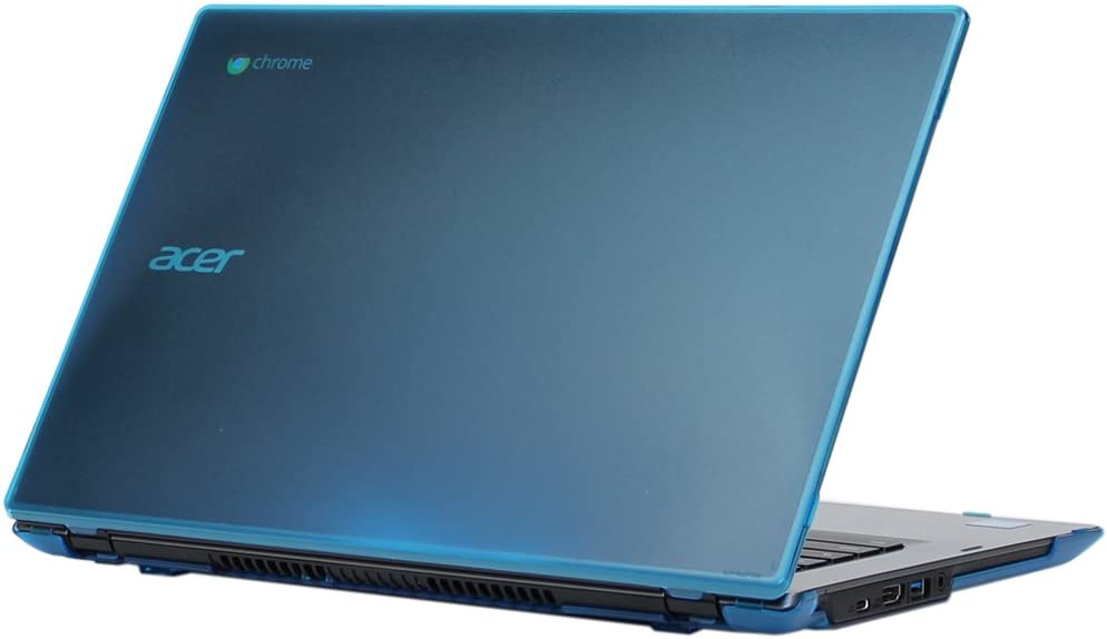 """iPearl mCover Hard Shell Case for 14"""" Acer Chromebook 14 for Work CP5-471 Series Laptop (Aqua)"""