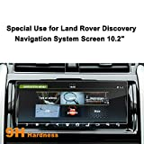 LFOTPP Land Rover Discovery 2017 10.2-Inch Car Navigation Screen Protector, [9H] Tempered Glass In-Dash Center Touch Screen Protector Anti Scratch High Clarity