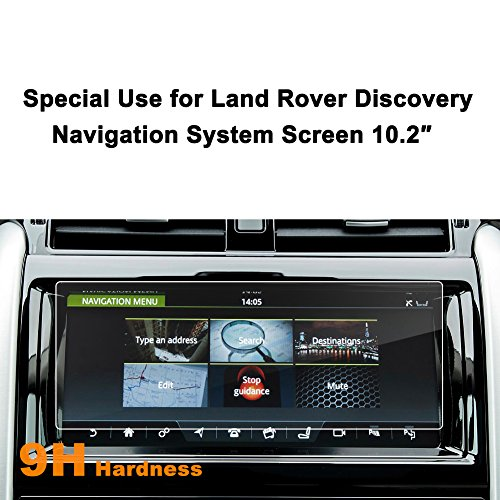 - LFOTPP Land Rover Discovery 2017 10.2-Inch Car Navigation Screen Protector, [9H] Tempered Glass In-Dash Center Touch Screen Protector Anti Scratch High Clarity