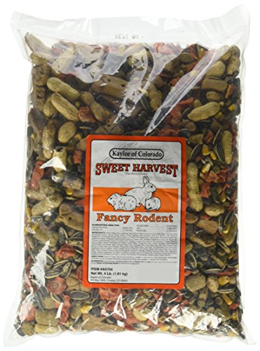 Sweet Fancy (Kalor Made Sweet Harvest Vitamin Enriched Fancy Rodent Pet Rabbit Food 4Lbs)