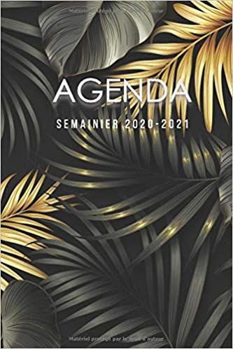 Amazon.fr   Agenda semainier 2020   2021: agenda professionnel