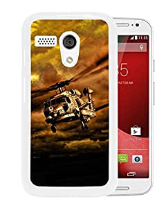 War Helicopters In Cloudy Sky (2) Durable High Quality Motorola Moto G Phone Case