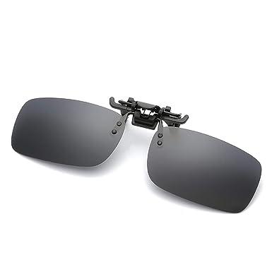 Gafas de sol polarizadas con clip Unisex Anti reflejante ...