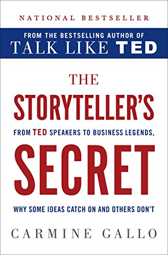 The Storyteller's Secret: From TED Speakers to Business Legends, Why Some Ideas Catch On and Others Don't - Top Harness Power