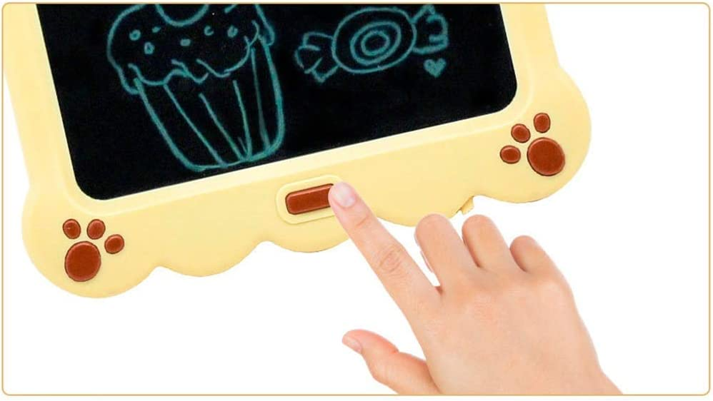 GEQWE LCD Writing Tablet 3 Pcs 10 Inch Childrens Electronic Drawing Board LCD Handwriting Board Intelligent Graffiti Board LCD Writing Tablet Writing Board Doodle