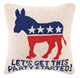 "Politcal Hook Pillows-16""x16"""