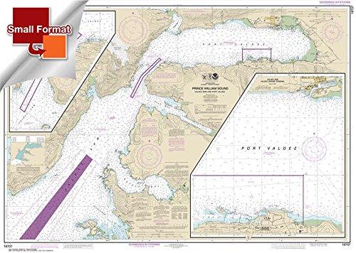 (Paradise Cay Publications NOAA Chart 16707: Prince William Sound-Valdez Arm and Port Valdez; Valdez Narrows 21.00 x 29.52 (SMALL FORMAT WATERPROOF))