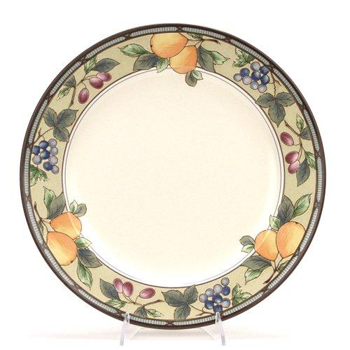- Garden Harvest by Mikasa, Stoneware Chop Plate