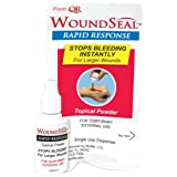 Pac-Kit by First Aid Only 90327 WoundSeal Blood Clot Powder Rapid Response Bottle