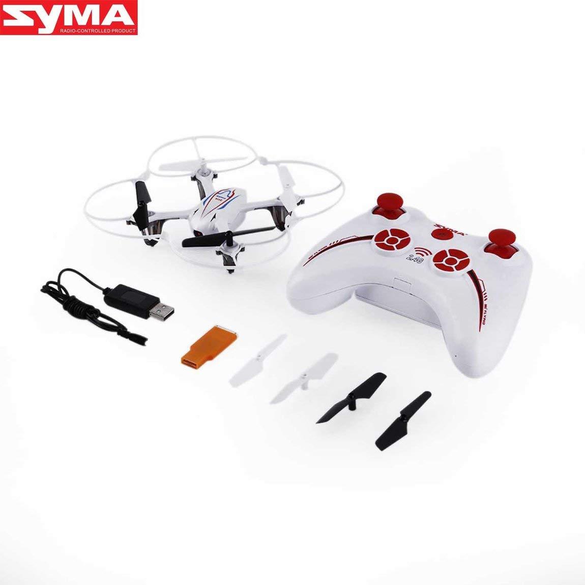 HarveyRudol85 [Excelente] blanc 2.4G 4CH 6 Axis RC Quadcopter with HD 2.0MP Camera for SYMA X11C