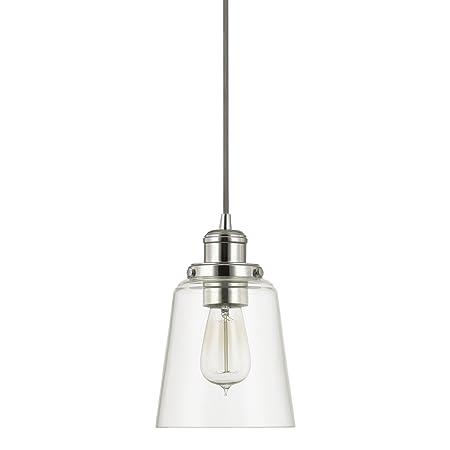 Capital Lighting 3718PN-135 One Light Mini-Pendant
