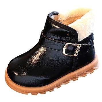 Bottines EnfantsQinmm Bottes Chaude Courtes Cheville Neige D'hiver Chaud Filles Chaussures Doublure Enfants Classique De Bébé Garçon 76yvIbYfg