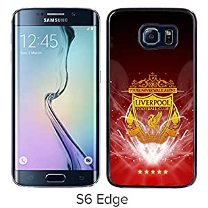 New Fashion Custom Designed Skin Case For Samsung Galaxy S6 Edge With Liverpool Black Phone Case 1