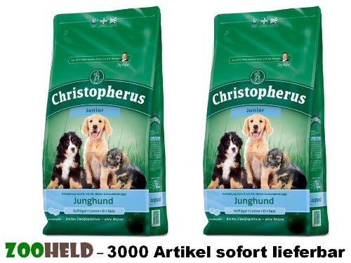 Allco Hundefutter 2x 12kg Christopherus Junghund Geflügel, Lamm für Welpen