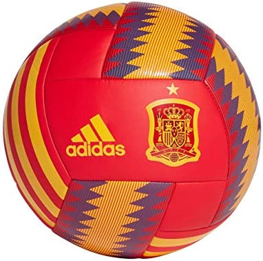 adidas Balon FEF Rojo Amarillo Azul CD8501: Amazon.es: Deportes y ...