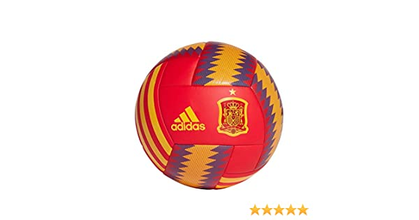 adidas Balon FEF Rojo Amarillo Azul CD8501: Amazon.es: Deportes y ...